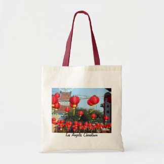 Los Angeles Chinatown Tote Bags