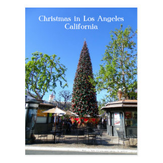 Los Angeles Christmas Postcard! Postcard