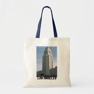 Los Angeles City Hall Tote Bags