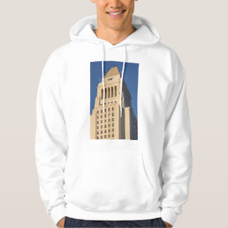 Los Angeles City Hall Hooded Pullover