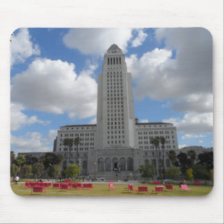 Los Angeles City Hall Mouse Pads