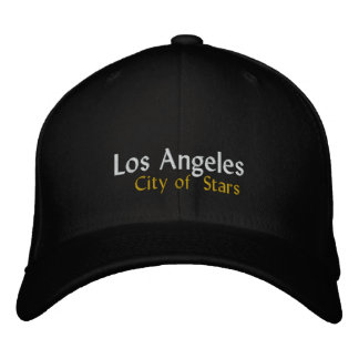 Los Angeles City of Stars Embroidered Hats