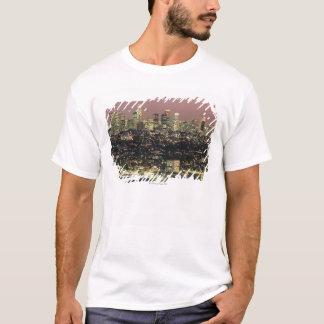 Los Angeles Cityscape at Night T-Shirt