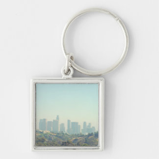 Los Angeles Cityscape Keychains