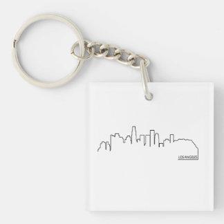 Los Angeles cityscape Acrylic Keychains