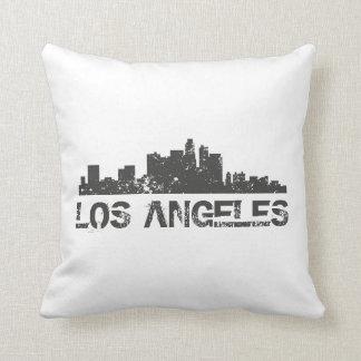Los Angeles Cityscape Skyline Pillows