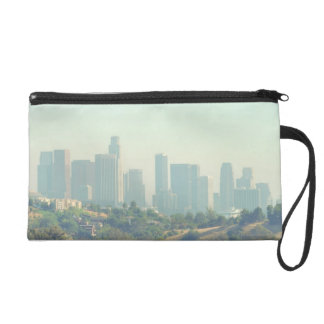 Los Angeles Cityscape Wristlet Clutches