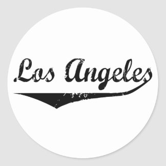 Los Angeles Classic Round Sticker