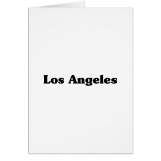 Los Angeles  Classic t shirts Greeting Card