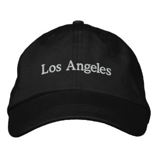 Los Angeles Embroidered Hat