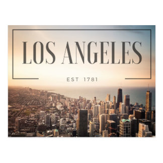 Los Angeles - Est 1781 Postcard