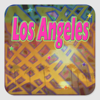 Los Angeles Eternal Sticker