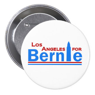 Los Angeles for Bernie 7.5 Cm Round Badge