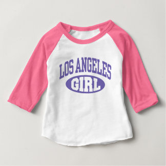 Los Angeles Girl Baby T-Shirt