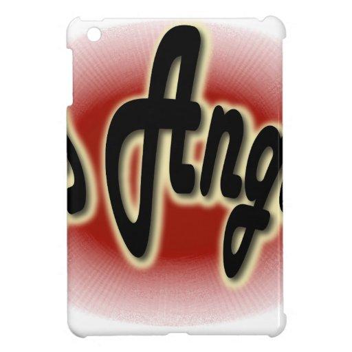 Los Angeles Glow Red iPad Mini Case