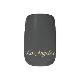 Los Angeles Gold - On Black Minx® Nail Wraps