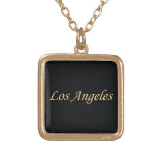 Los Angeles Gold - On Black Custom Jewelry