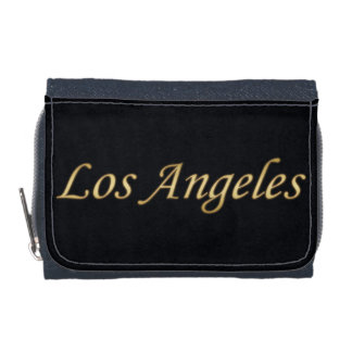 Los Angeles Gold - On Black Wallets