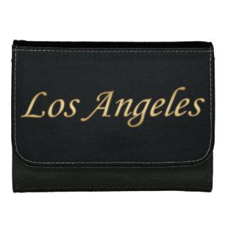 Los Angeles Gold - On Black Women's Wallets