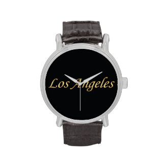 Los Angeles Gold - On Black Wristwatches