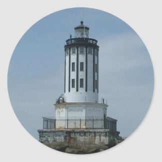 Los Angeles Harbor Lighthouse Classic Round Sticker