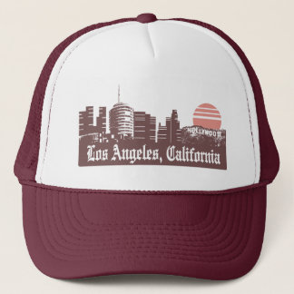Los Angeles Linesky Trucker Hat