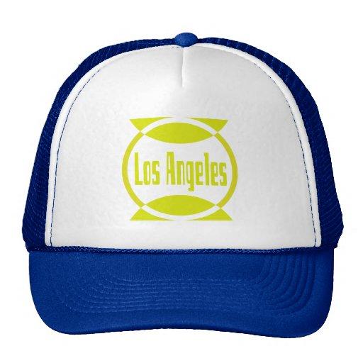 Los Angeles Logo Design #1- Lemon Yellow Hat