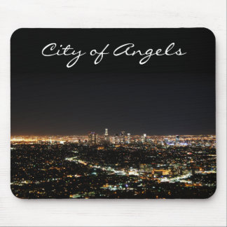 Los Angeles Night Mouse Mat
