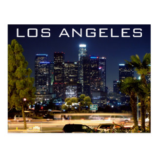 Los Angeles Night Paper Products Postcard