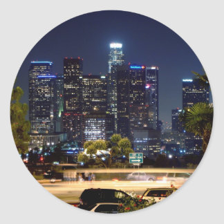 Los Angeles Night Sticker