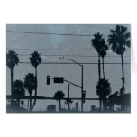Los Angeles Palm Trees Note Card