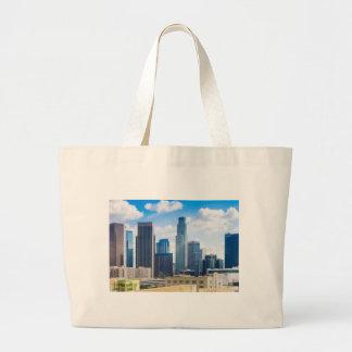 Los Angeles Panorama Jumbo Tote Bag