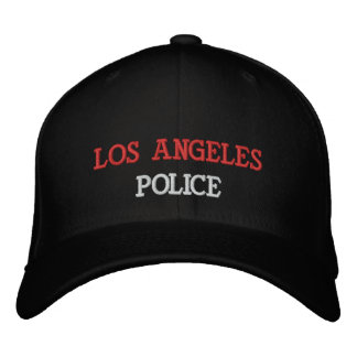 LOS ANGELES, POLICE EMBROIDERED HAT