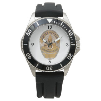 Los Angeles Police Shield Watch