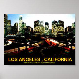 LOS ANGELES  POSTER BY Mojisola  Gbadamosi Okubule