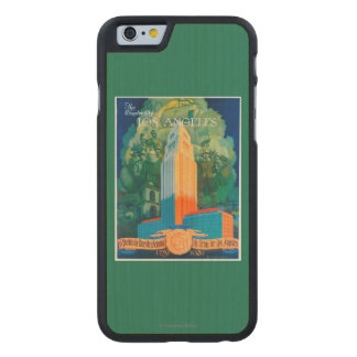 Los Angeles Promotional Poster Carved Maple iPhone 6 Case