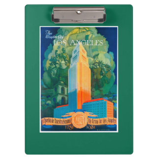 Los Angeles Promotional Poster Clipboard