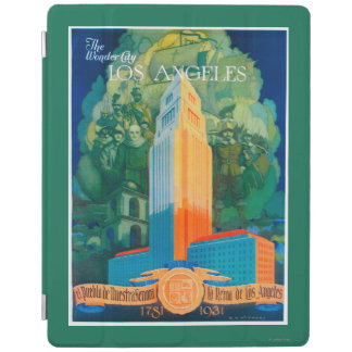 Los Angeles Promotional Poster iPad Cover