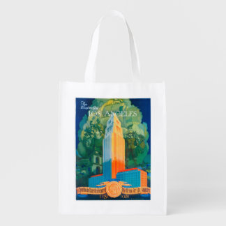 Los Angeles Promotional Poster Reusable Grocery Bag