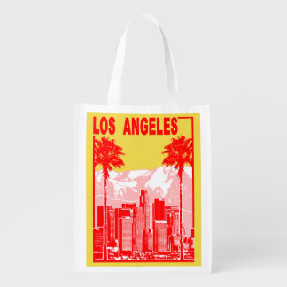 Los Angeles Reusable Grocery Bag