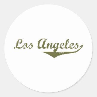 Los Angeles  Revolution t shirts Sticker