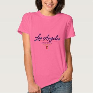 Los Angeles Script Tshirts
