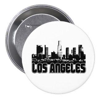 Los Angeles Skyline Button