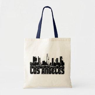 Los Angeles Skyline Budget Tote Bag
