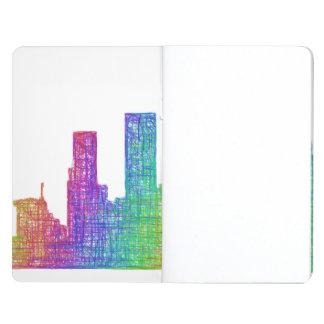 Los Angeles skyline Journal