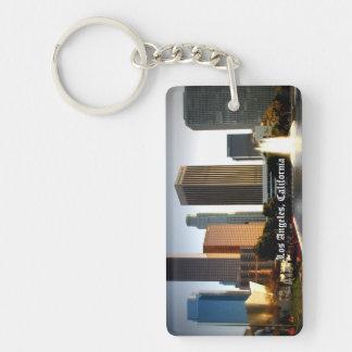 Los Angeles Skyline Keychain