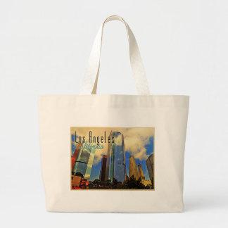 Los Angeles Skyline Large Tote Bag
