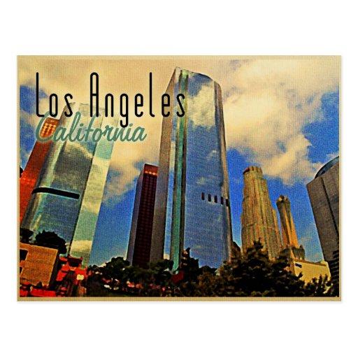 Los Angeles Skyline Postcards