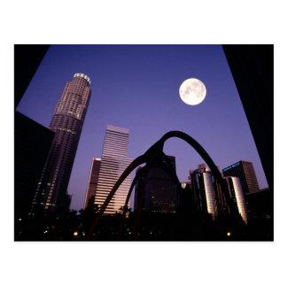 Los Angeles Skyscrapers Postcard