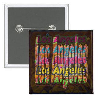 Los Angeles Sparkle Button